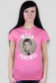Wóda i parówki - koszulka damska