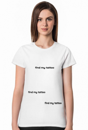 Find My Tattoo - T-shirt