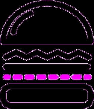 Bluza Hamburger #1