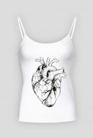 Minimal Heart Ramiączki