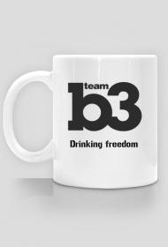 Kubek B3team drinking freedom