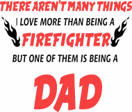 Koszulka Firefighter Dad