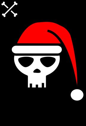 Xmas Time Skull