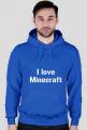 koszulka i love minecraft
