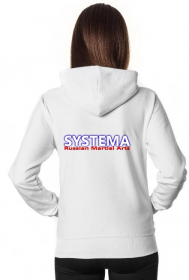 Womens Systema Hoodie black or white