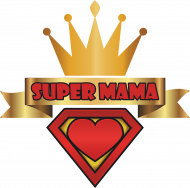Bluza Super Mama czarna
