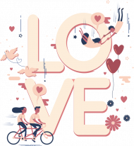 Poduszka Love