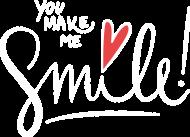 Koszulka You Make Me Smile damska