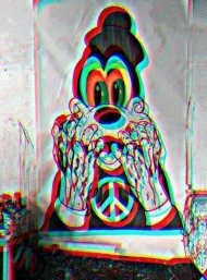 T-shirt Mickey Mouse DRUGS