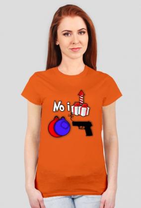 No i .... bombki strzelił Koszulka K rebus zagadka