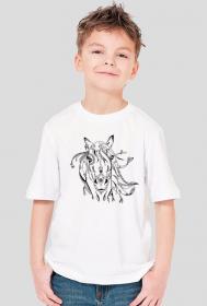 Koszulka z koniem dla dziecka - chłopięca