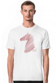 Koszulka z koniem - męska
