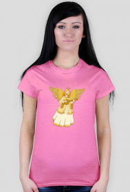 Katolickie koszulki - Anioł - damska