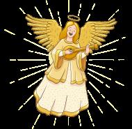 Katolickie koszulki - Anioł - męska