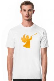 Koszulki z nadrukiem chrześcijańskim - Anioł - męska