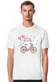Koszulka z rowerem - męska