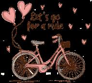 Koszulka z rowerem - damska