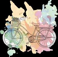 Koszulki z motywem rowerowym - męska
