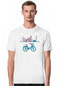 Koszulki z nadrukiem rowerowym - męska