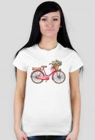Koszulka rower - damska