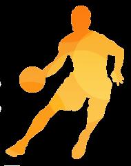 Koszulka na wf - Koszykarz - męska