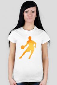 Koszulka na wf - Koszykarz - damska