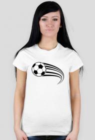 Koszulki na wf damskie - Piłka