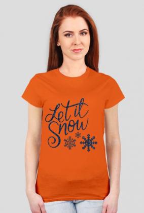 Koszulki na Święta - Let it Snow