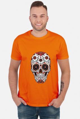 Koszulki z czaszkami męskie - Kolorowa czaszka