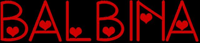 Kubek Balbina serce - Prezent dla Balbiny