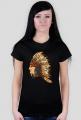 Koszulka z indianinem w pióropuszu - damska