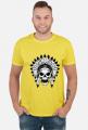 Koszulki z indianami - Indianin czaszka - męska