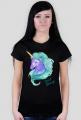 Koszulka jednorożec - damska