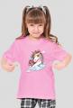 Koszulka (t-shirt) z jednorożcem - dziewczęca