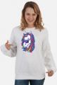 Bluza unisex z jednorożcem - Jednorożec z dredami