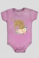 Odzież niemowlęca - Body złoty jednorożec