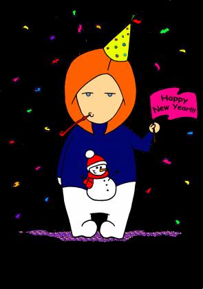 bluza unisex nowy rok