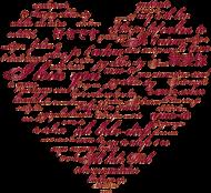 Miś kocham Cię / Serce / Miłość / Walentynki