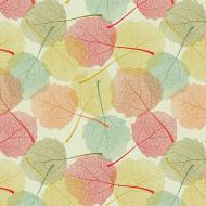 Maseczka liście