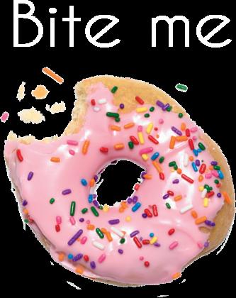 ugryź mnie donut bokserka damska