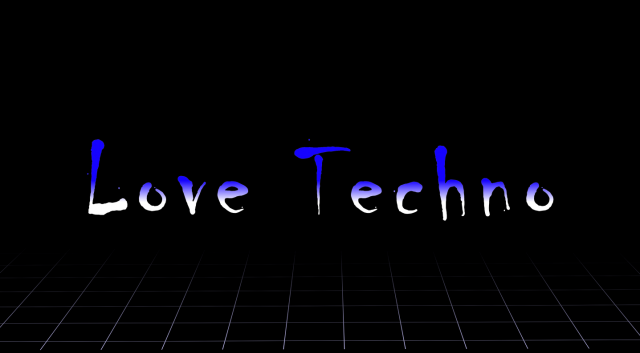 Bokserka Love Techno