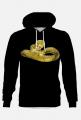 Bluza z kapturem Golden Snake