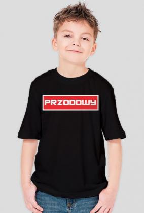 Byle na 6 - koszulka dla chłopczyka z serii Przodowy.
