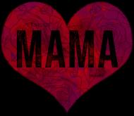 Mama (serce) - koszulka damska