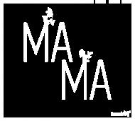 Mama (kwadrat) - koszulka damska