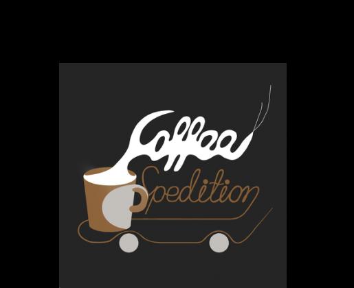 Czapka z nadrukiem firmowym Coffee-spedition