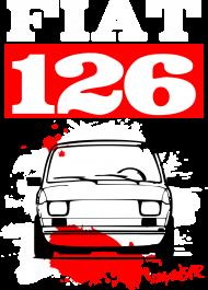KOSZULKA MĘSKA - Fiat 126 RW