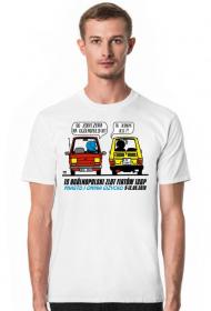 Koszulka męska - 15 Ogólnopolski Zlot Fiatów 126p - Giżycko 2018