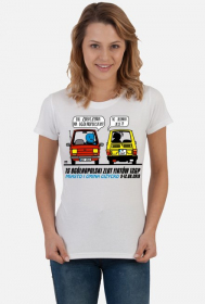 Koszulka damska - 15 Ogólnopolski Zlot Fiatów 126p - Giżycko 2018