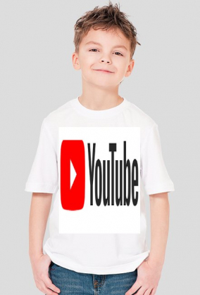 koszulka dziecęca YouTube